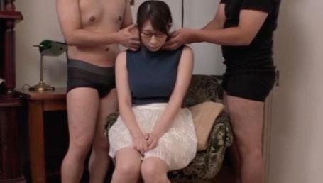 脱がした時のギャップが凄すぎる隠れ巨乳の地味めがね女子達が変態H志願してAV出演