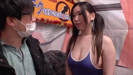ムチムチHカップ爆乳女優の密着乳首舐め手コキ・むっちり肉感パイズリ・淫語素股等のテクニックに耐えられたら中出しSEXのご褒美