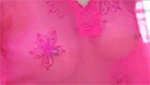 うっすら透けた爆乳ボディがソソる妖艶な色気がたまらない美女