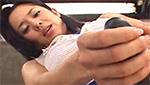 巨乳お姉さんが擬似チ○コを扱きながら淫語を浴びせるふたなり動画