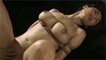 キツく縛られた乳房が揺れる緊縛調教セックスがイヤラシイ爆乳M女