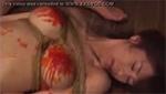 緊縛されて巨乳に熱い蝋燭を垂らされて喘ぐSM調教動画