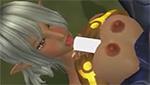 ファンタジー系巨乳美女がお口や乳房でチ○ポをイかせるエロアニメ動画