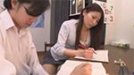 巨乳美人家庭教師が穿いてるミニスカの中身が気になって仕方がない生徒