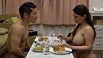 いつでも即セックス出来るように全裸で過ごす淫乱巨乳妻