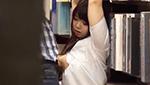 爆乳女子校生が書店でひとりきりになったところを狙われ犯される!