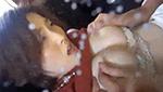 自分の母乳も兵器で飲み干す変態巨乳M女が手マンで潮吹きイキ!
