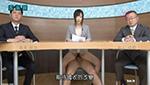 巨乳女子アナがセックスしながらニュース番組を続けるのが当たり前!?