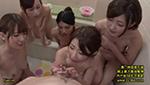 5人の巨乳お姉ちゃんにチン○ンをもて遊ばれるボク。